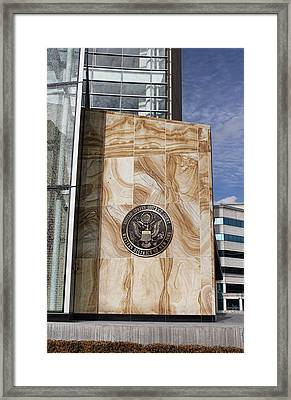 Emblem Framed Print by Peter Chilelli