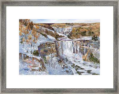 Embracing Majesty Framed Print