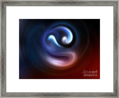 Embryo Framed Print by Jutta Maria Pusl