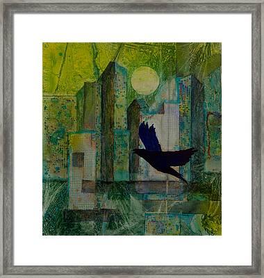 Emerald City Framed Print by David Raderstorf