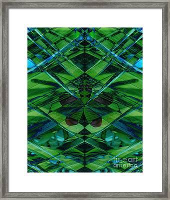 Emerald Cut Framed Print by Ann Powell