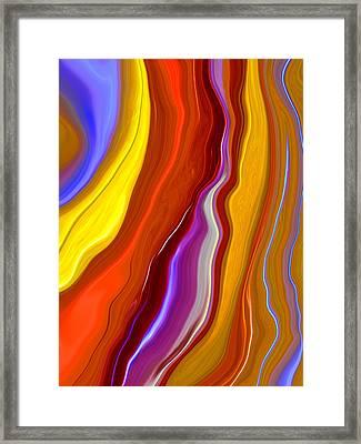 Emerge Framed Print by Linnea Tober