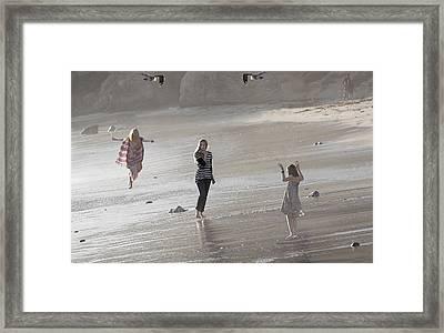 Emerged From The Sea Framed Print by Viktor Savchenko