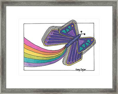 Emergence Framed Print by Terry Taylor
