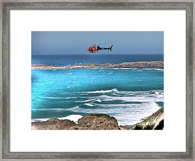 Emergency Pick Up Framed Print by Joanne Kocwin