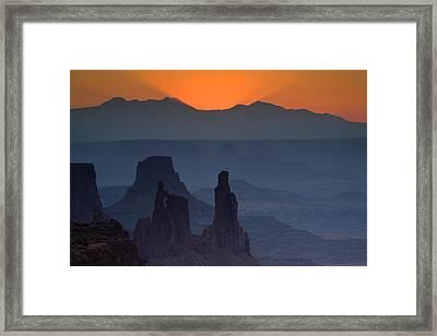 Emerging Dawn Framed Print by Andrew Soundarajan