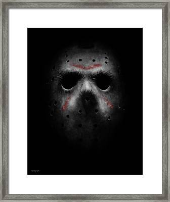 Emerging From Darkness Framed Print by Ronald Barba