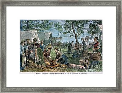 Emigrants: Arkansas, 1874 Framed Print by Granger