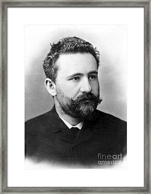Emil Kraepelin, German Psychiatrist Framed Print by Science Source