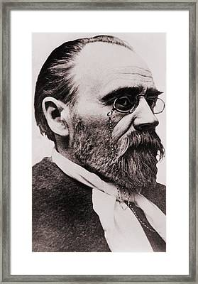 Emile Zola 1840-1902, French Novelist Framed Print by Everett