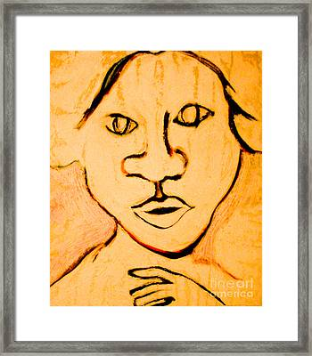 Emily Framed Print by Bill Davis
