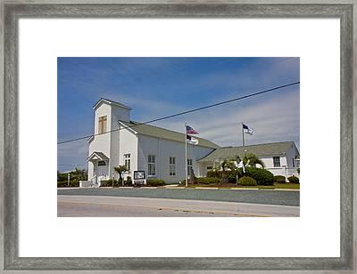 Emma Anderson Memorial Chapel Framed Print by Betsy Knapp