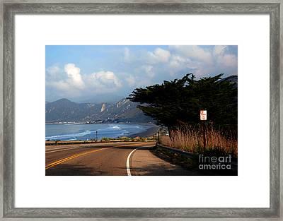 Emma Wood State Beach California Framed Print by Susanne Van Hulst