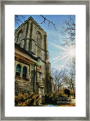 Emmanuel United Methodist Church Framed Print by Joel Witmeyer
