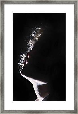 Emote Number One Framed Print