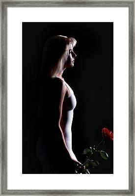 Emote Number Two Framed Print
