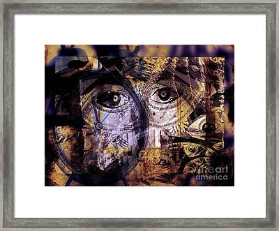Emotional Attachment- Free Me Framed Print by Fania Simon