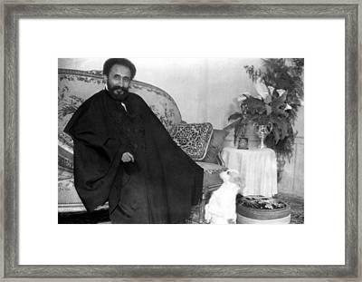 Emperor Haile Selassie, Circa 1930-1935 Framed Print by Everett
