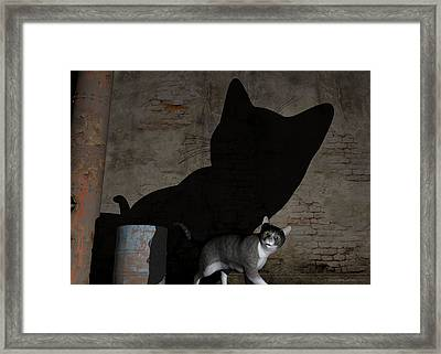 Emperor Of Midnight Framed Print by Sipo Liimatainen