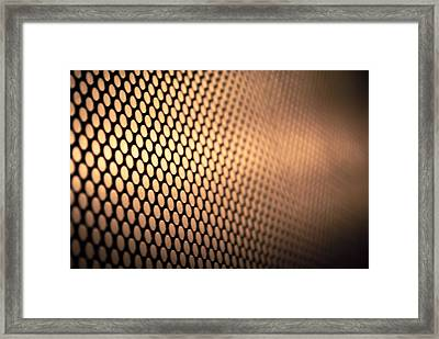 Empire Lift Framed Print by Jason Heckman