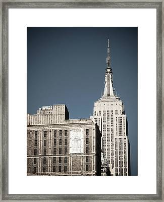 Empire State 2 Framed Print by Darren Martin
