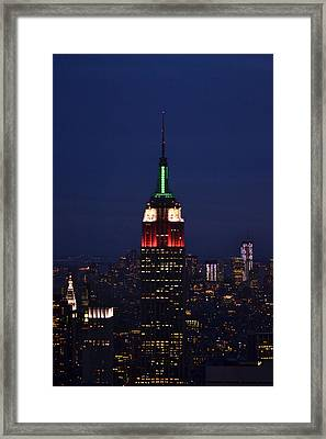 Empire State Building1 Framed Print