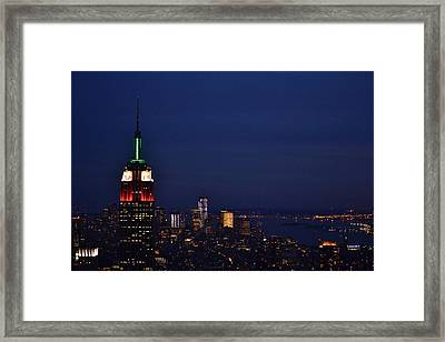 Empire State Building3 Framed Print