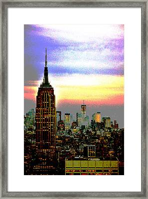 Empire State Building4 Framed Print