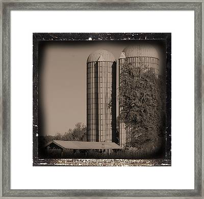Emptiness Framed Print by Sandy Poore