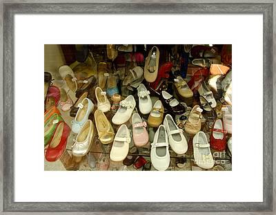 Empty Footsteps Framed Print by Perry Van Munster
