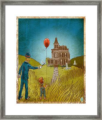 Empty Home Framed Print by Baird Hoffmire