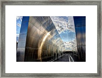 Empty Sky Memorial Nj Framed Print