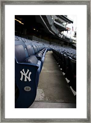 Empty Stadium 1 Framed Print