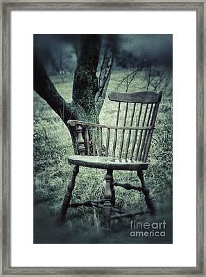 Emptyness Framed Print by Carolyn Fox