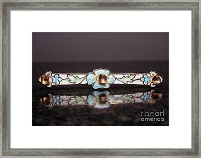 Enamels 21 Framed Print by Dwight Goss