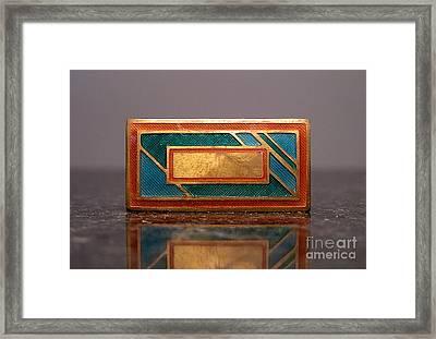 Enamels 30 Framed Print by Dwight Goss