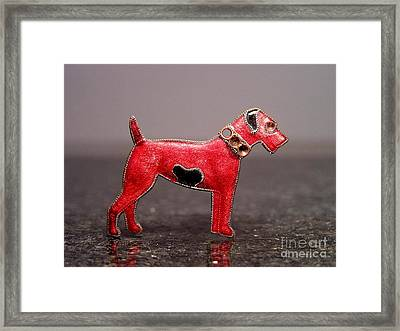 Enamels 48i Framed Print by Dwight Goss