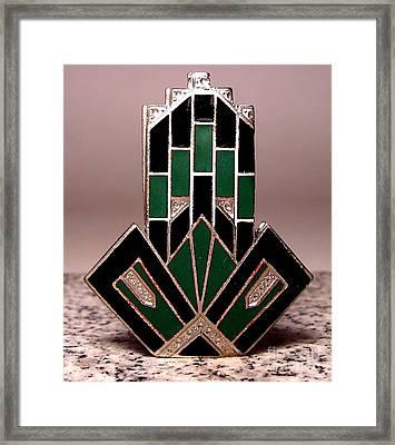 Enamels 53 Framed Print by Dwight Goss