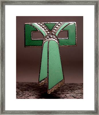 Enamels 56 Framed Print by Dwight Goss