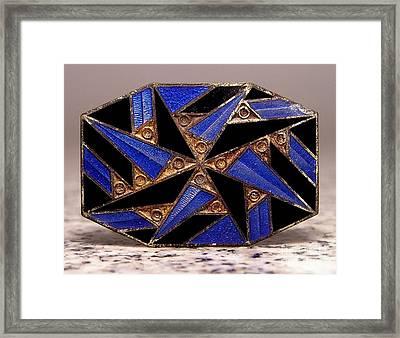 Enamels 58 Framed Print by Dwight Goss