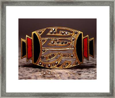 Enamels 61 Framed Print by Dwight Goss