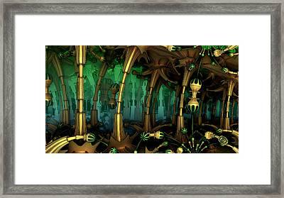 Enchanted Fantasy Forest Framed Print