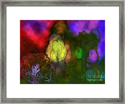 Enchanted Forest 3 Framed Print