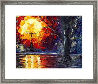 Enchanted Forest Framed Print by Jessilyn Park