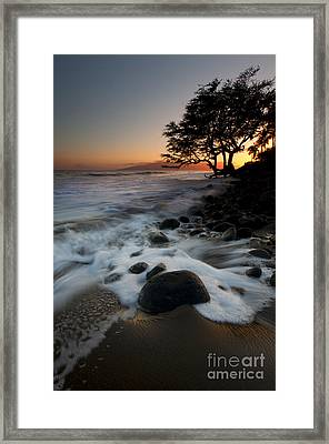 Encompassed Framed Print by Mike  Dawson
