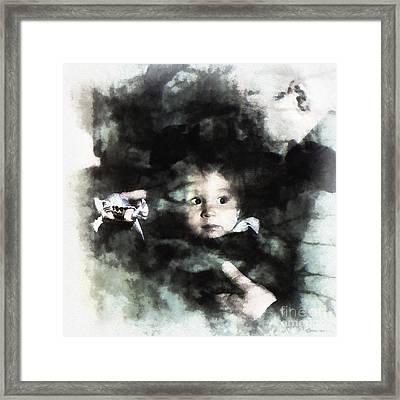 Encounters Framed Print by Arne Hansen