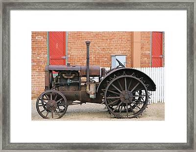 End Of An Era Framed Print by