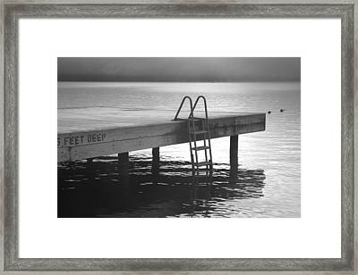 End Of Summer Framed Print by Steven Ainsworth