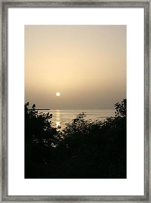 End Of The Day Framed Print by Jessica Jandayan