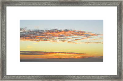 End Of The Day Framed Print by Mariola Szeliga